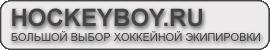 Хоккейный магазин HockeyBoy.ru -  хоккейная экипировка, хоккейная форма