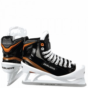 Bauer PRO Senior Ice Hockey Goalie Skates.