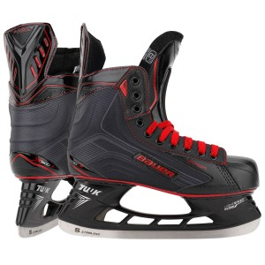 Bauer Vapor X500 LE Black Sr. Ice Hockey Skates